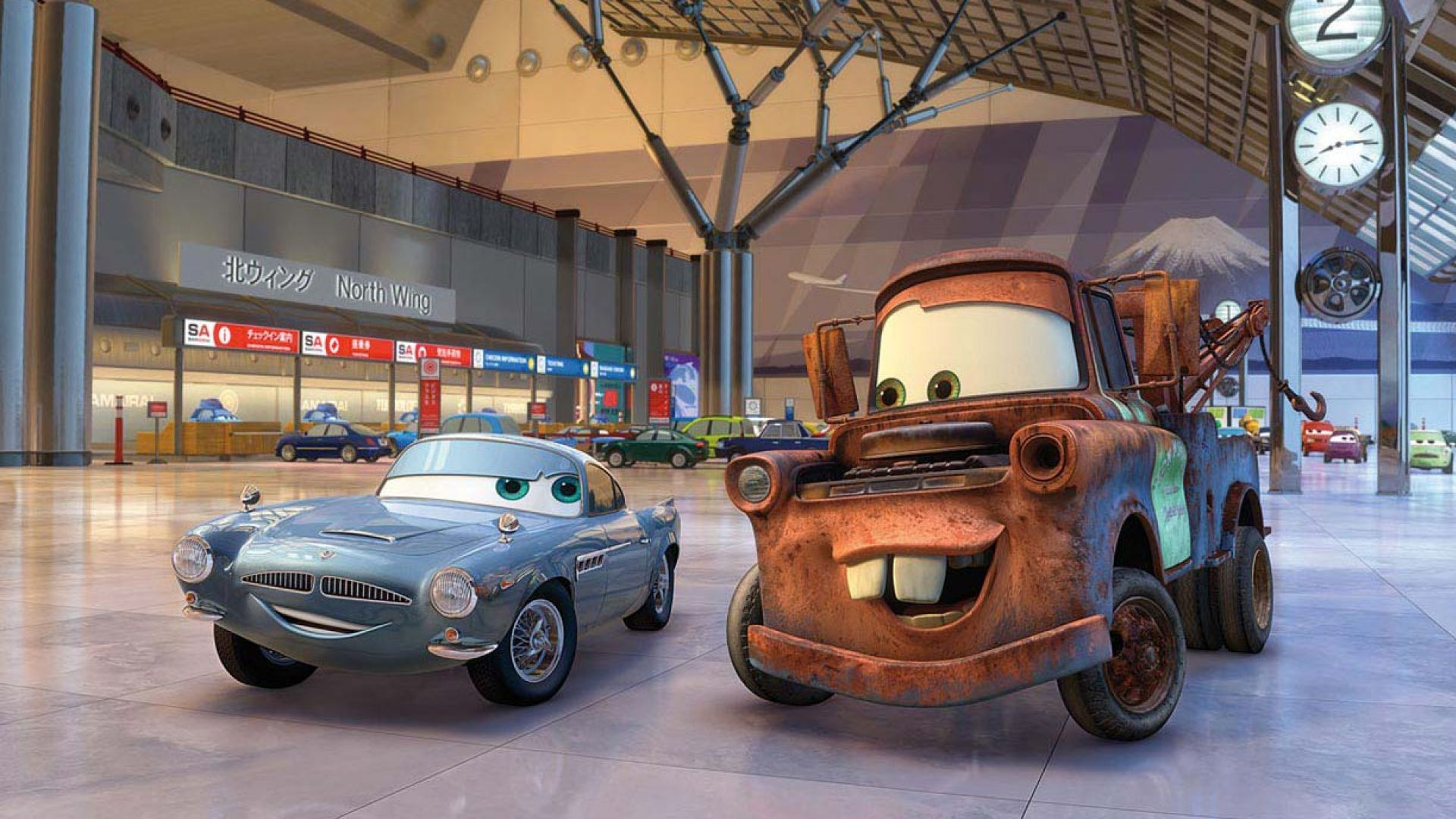 Immagine 24: Cars 2: i nuovi personaggi