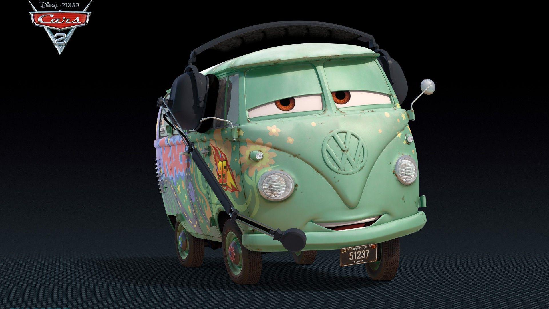 Immagine 21: Cars 2: i nuovi personaggi