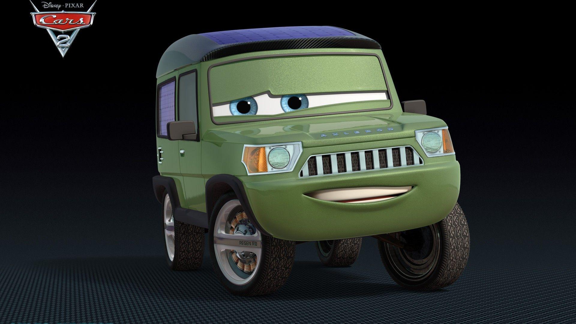 Immagine 15: Cars 2: i nuovi personaggi