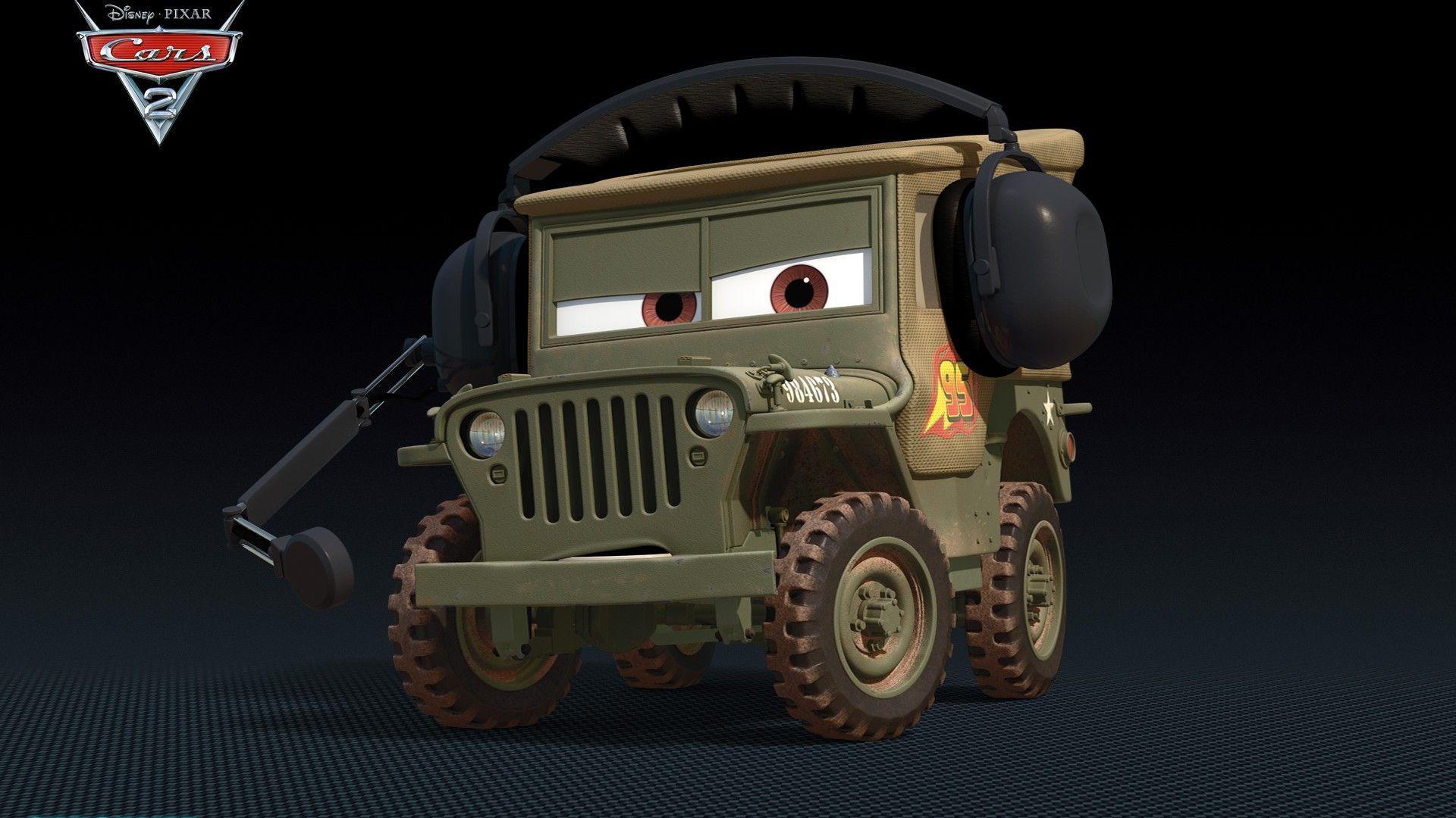 Immagine 7: Cars 2: i nuovi personaggi