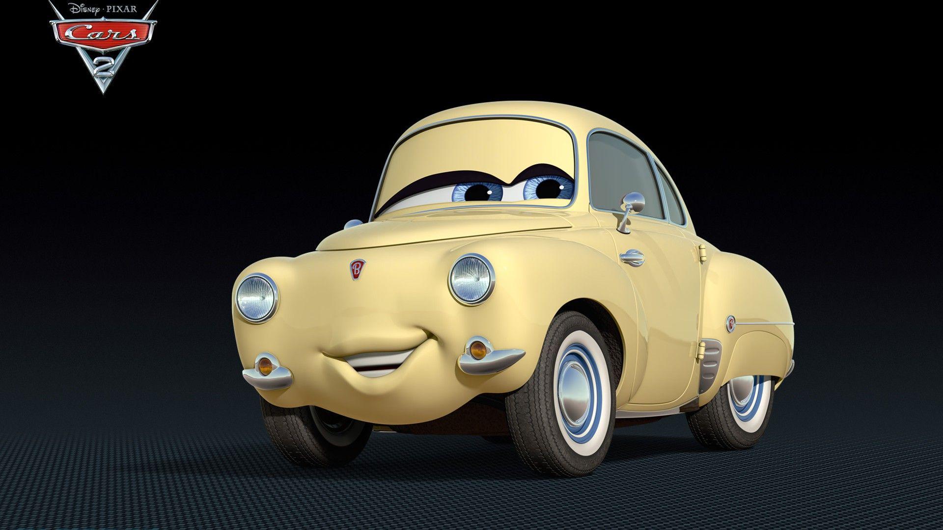 Immagine 5: Cars 2: i nuovi personaggi