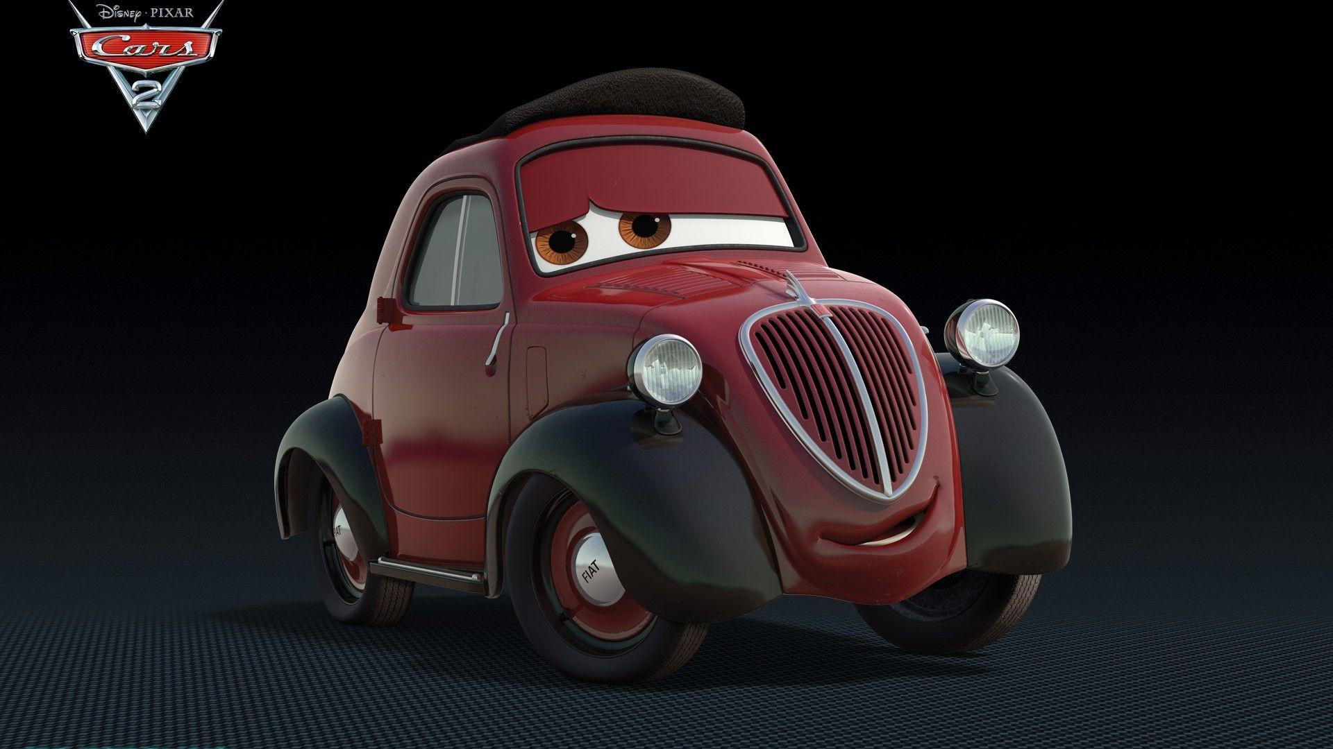 Immagine 3: Cars 2: i nuovi personaggi