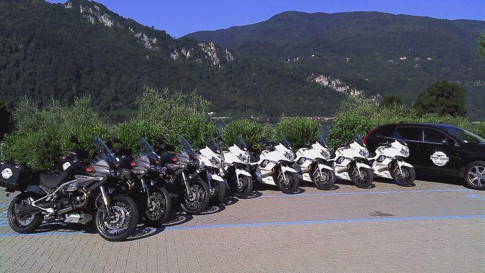 Immagine 1: Da Mandello a Caponord con le Moto Guzzi
