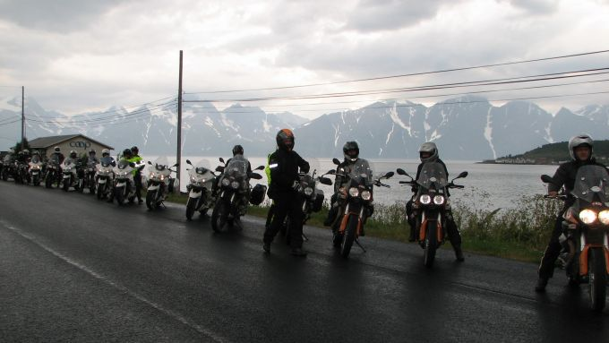 Immagine 76: Da Mandello a Caponord con le Moto Guzzi