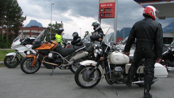 Immagine 50: Da Mandello a Caponord con le Moto Guzzi