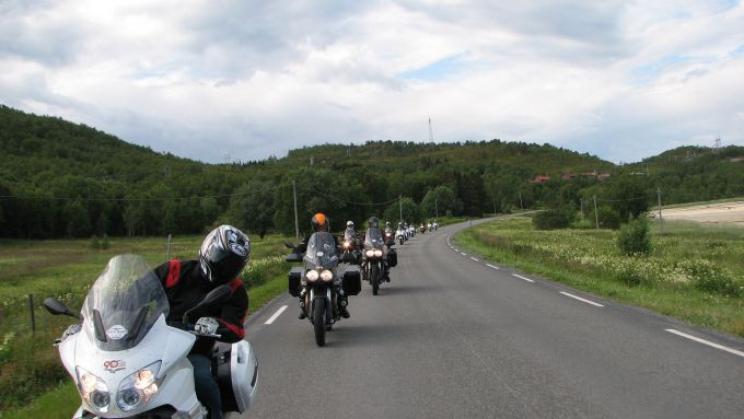 Immagine 81: Da Mandello a Caponord con le Moto Guzzi