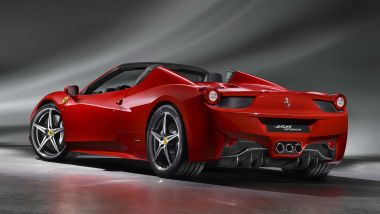 Listino prezzi Ferrari 458 Spider