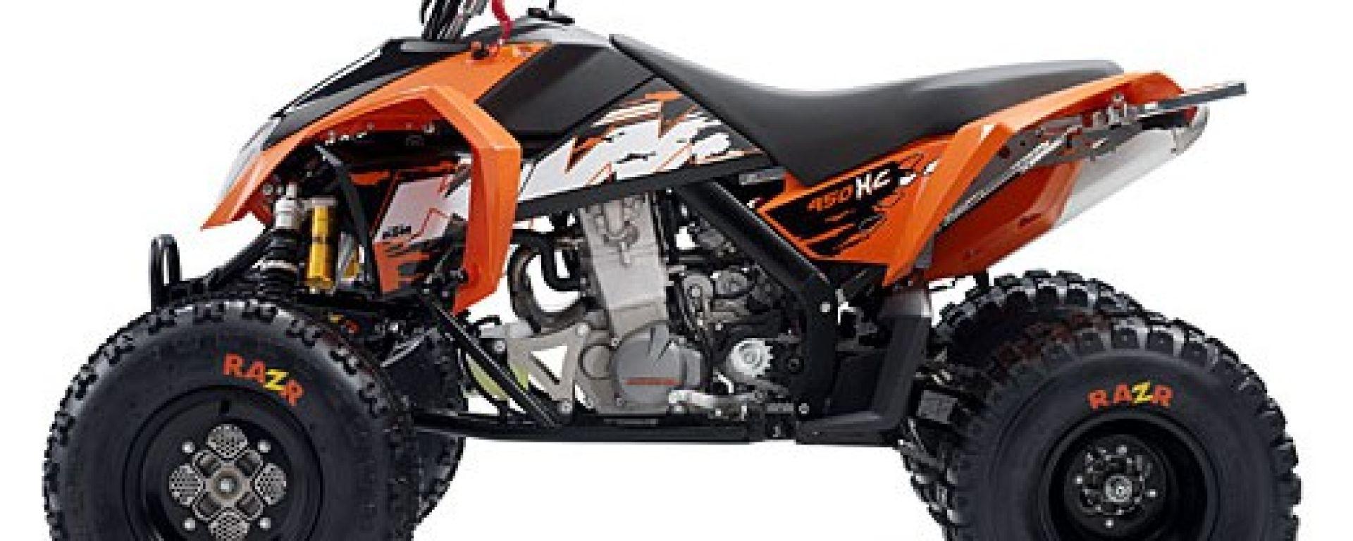 KTM ATV 2008