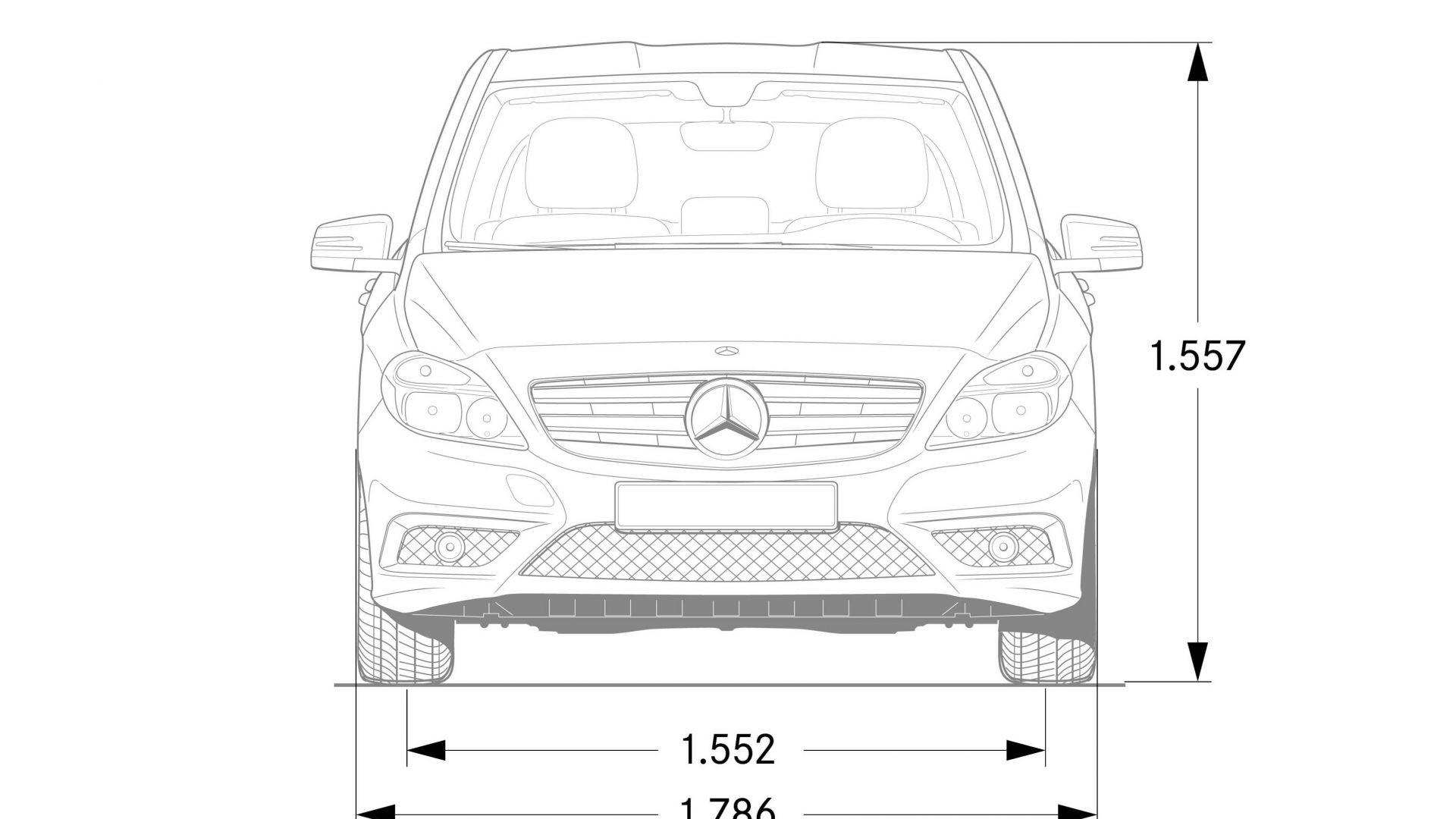 Immagine 160: Mercedes Classe B 2012