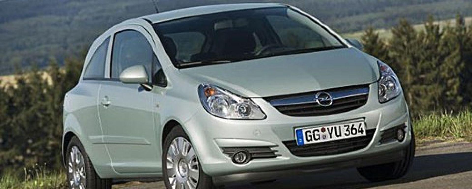Opel Corsa Hybrid ed ecoFlex