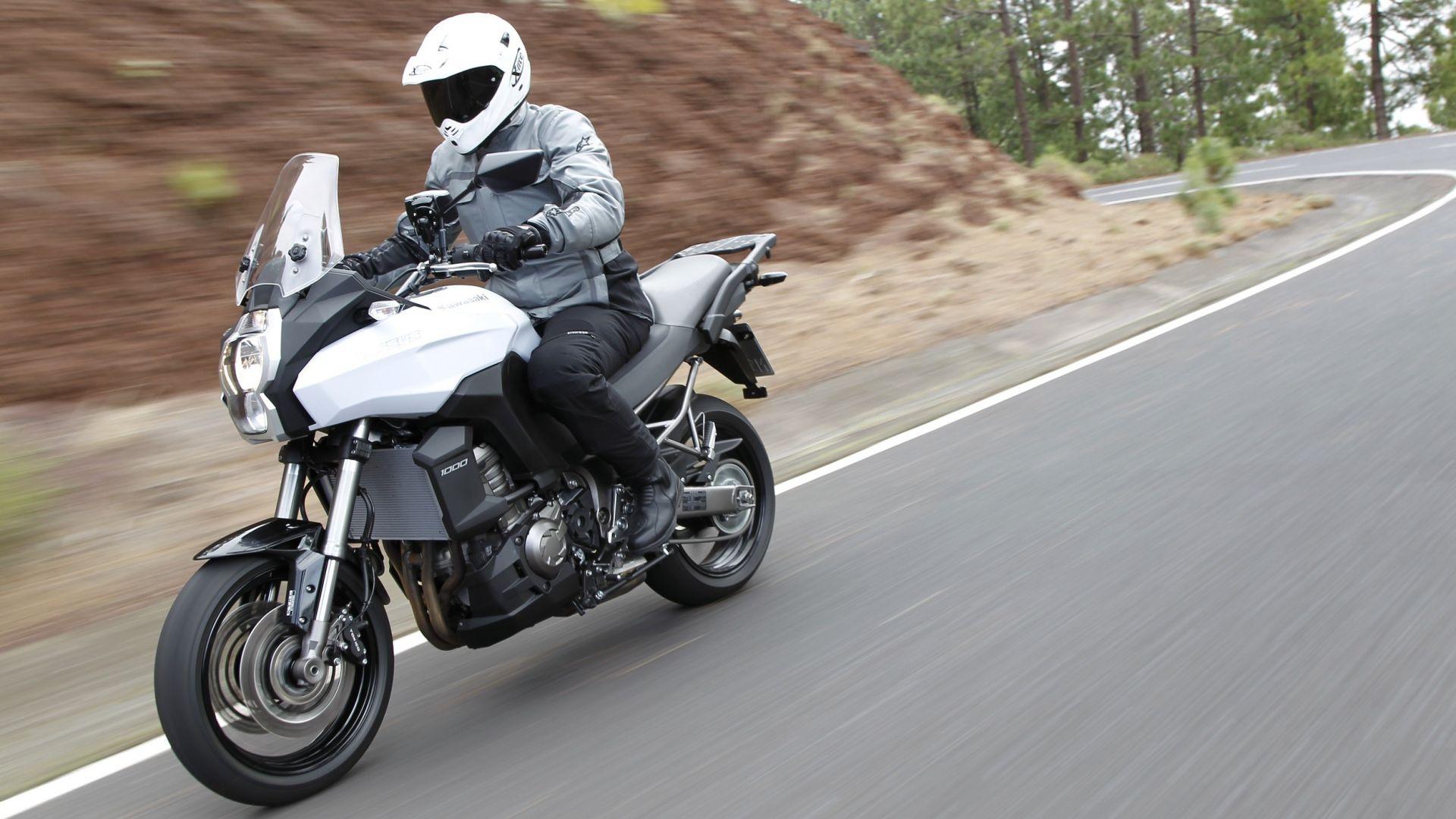 Immagine 9: Kawasaki Versys 1000: ora anche in video