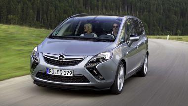 Listino prezzi Opel Zafira Tourer