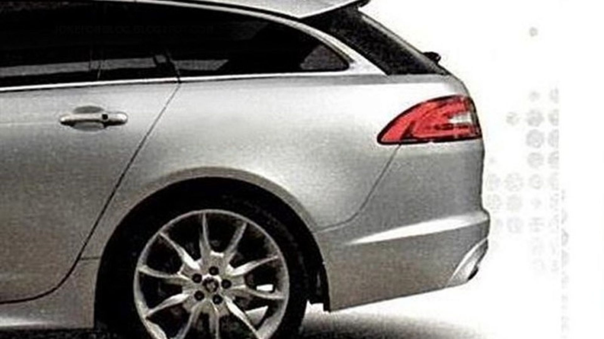 Immagine 1: Jaguar XF Sportbrake: a nudo la station wagon