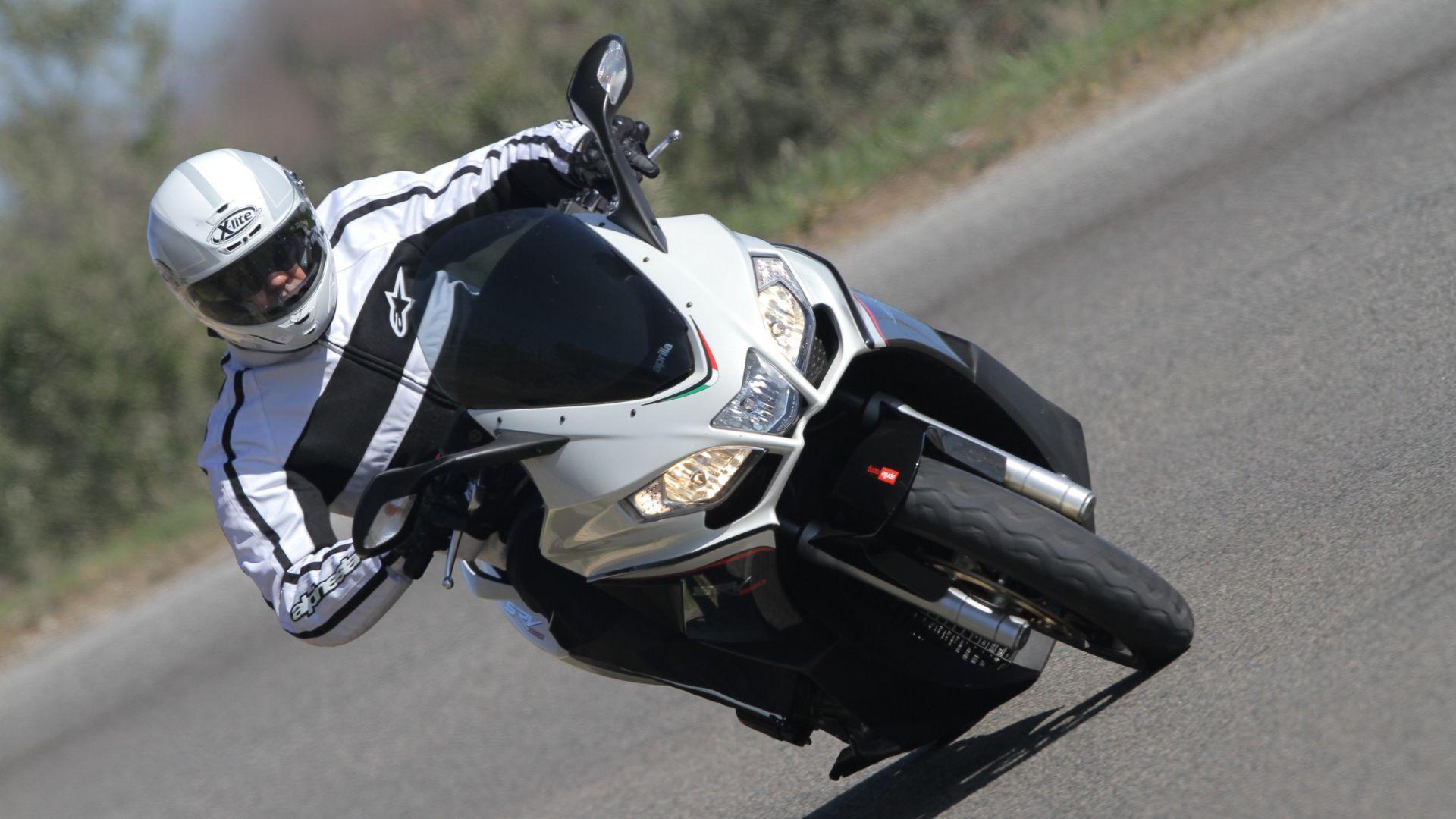 Immagine 1: Aprilia SRV 850, ora anche in video