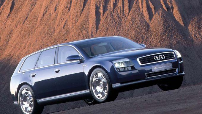 """Immagine 0: Audi: una """"Superavant"""" al posto della A4 Allroad?"""