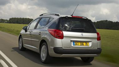 Listino prezzi Peugeot 207 SW