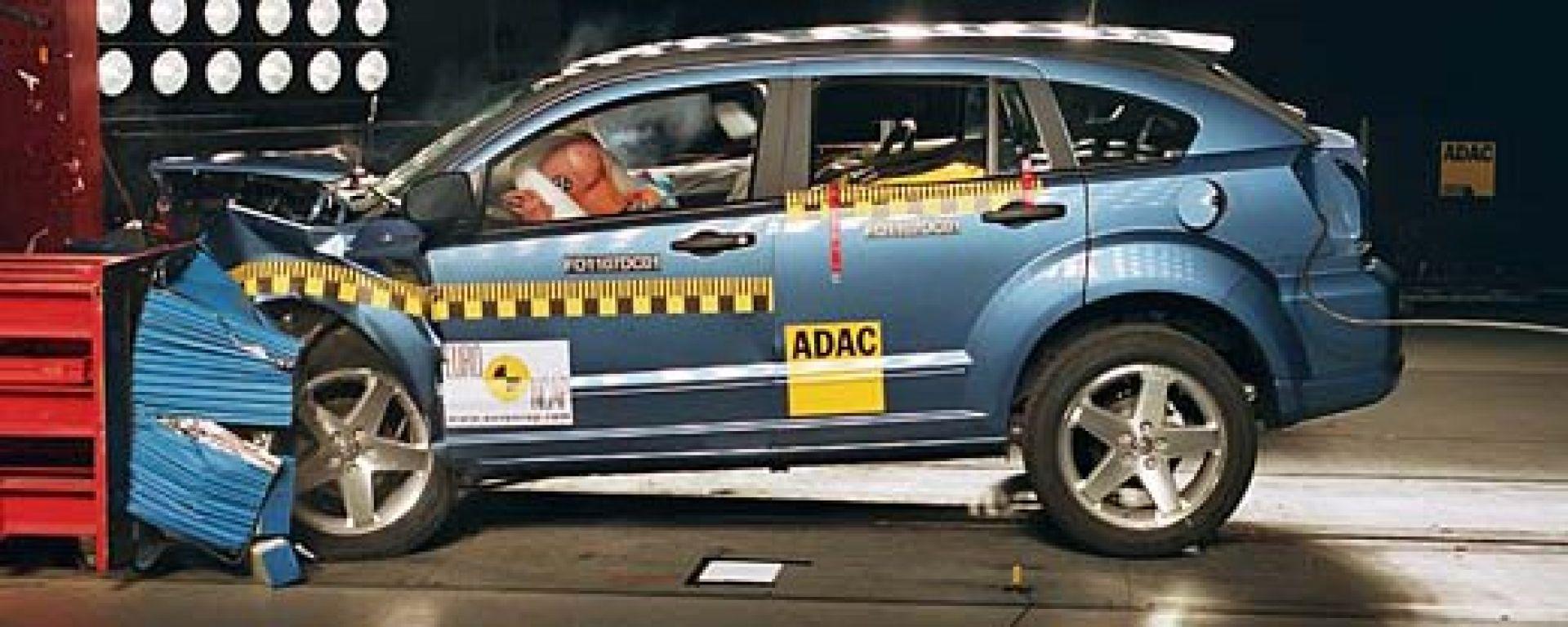DODGE: crash test a quattro stelle per Caliber