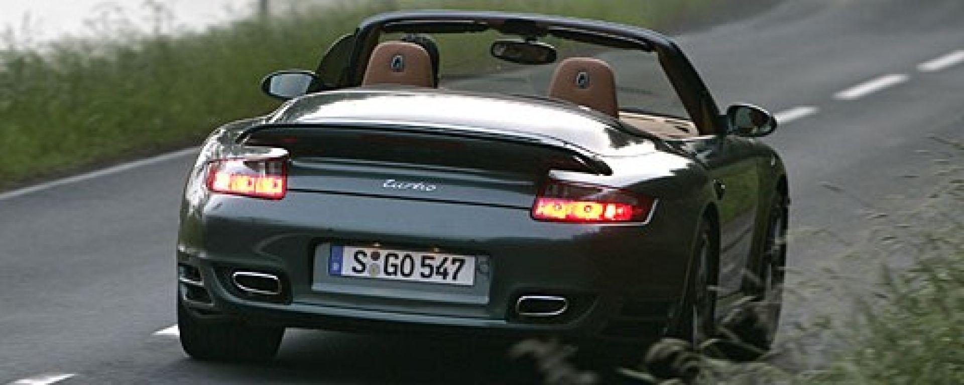 Prova  Porsche 911 Turbo Cabrio - MotorBox 60b08f52e6f2