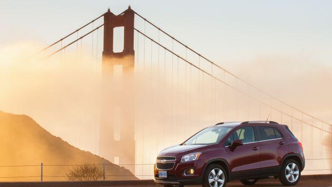 Immagine 5: Chevrolet Trax, nuove immagini e dati