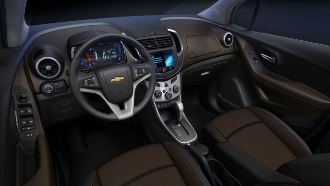 Immagine 8: Chevrolet Trax, nuove immagini e dati