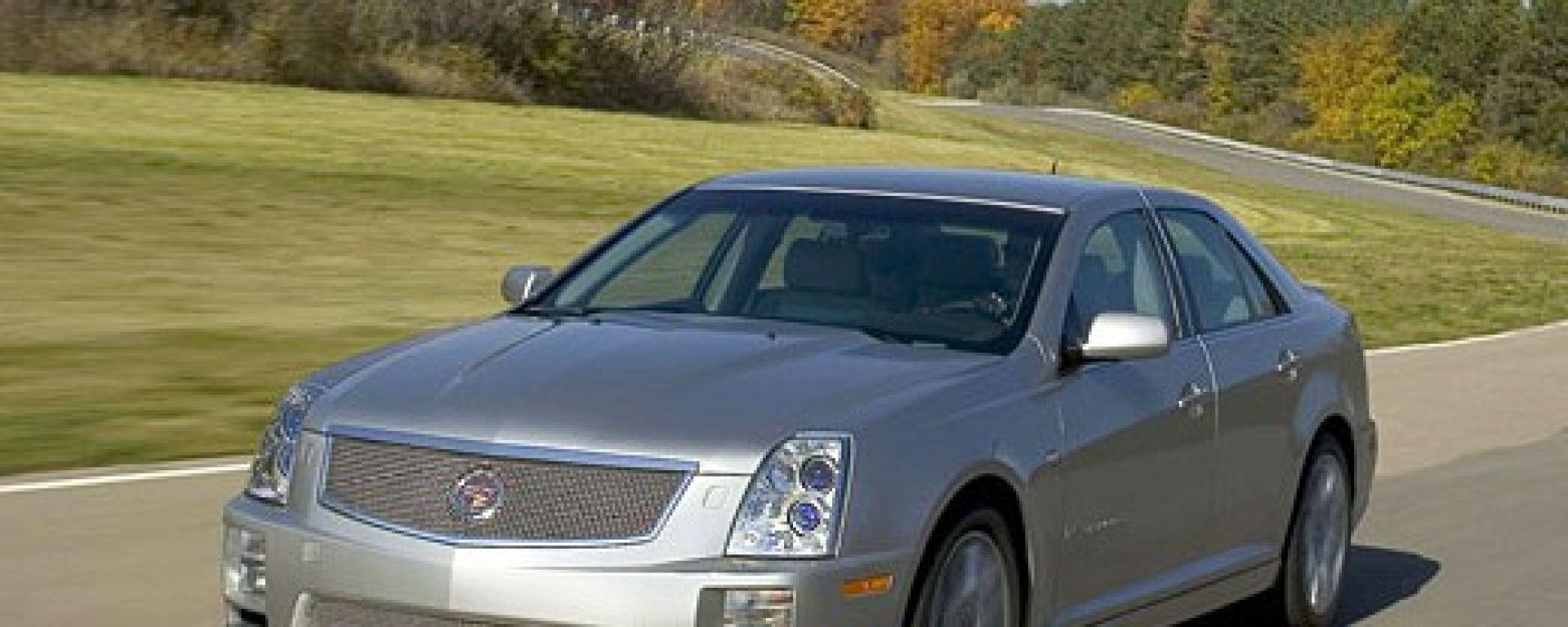 Cadillac STS-V e XLR-V