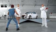Volkswagen: pubblicità choc per la Golf Gti - Immagine: 7