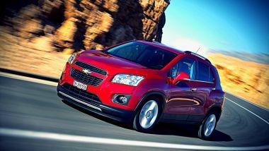 Listino prezzi Chevrolet Trax