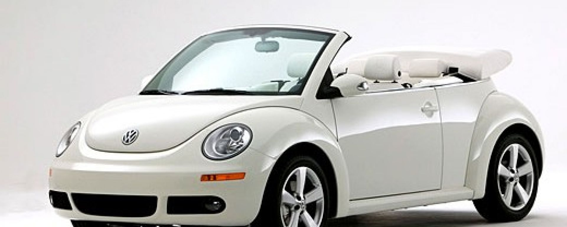 Vw New Beetle Triple White