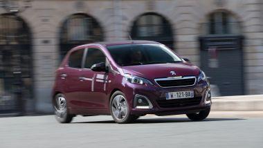 Listino prezzi Peugeot 108