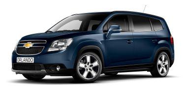 Listino prezzi Chevrolet Orlando