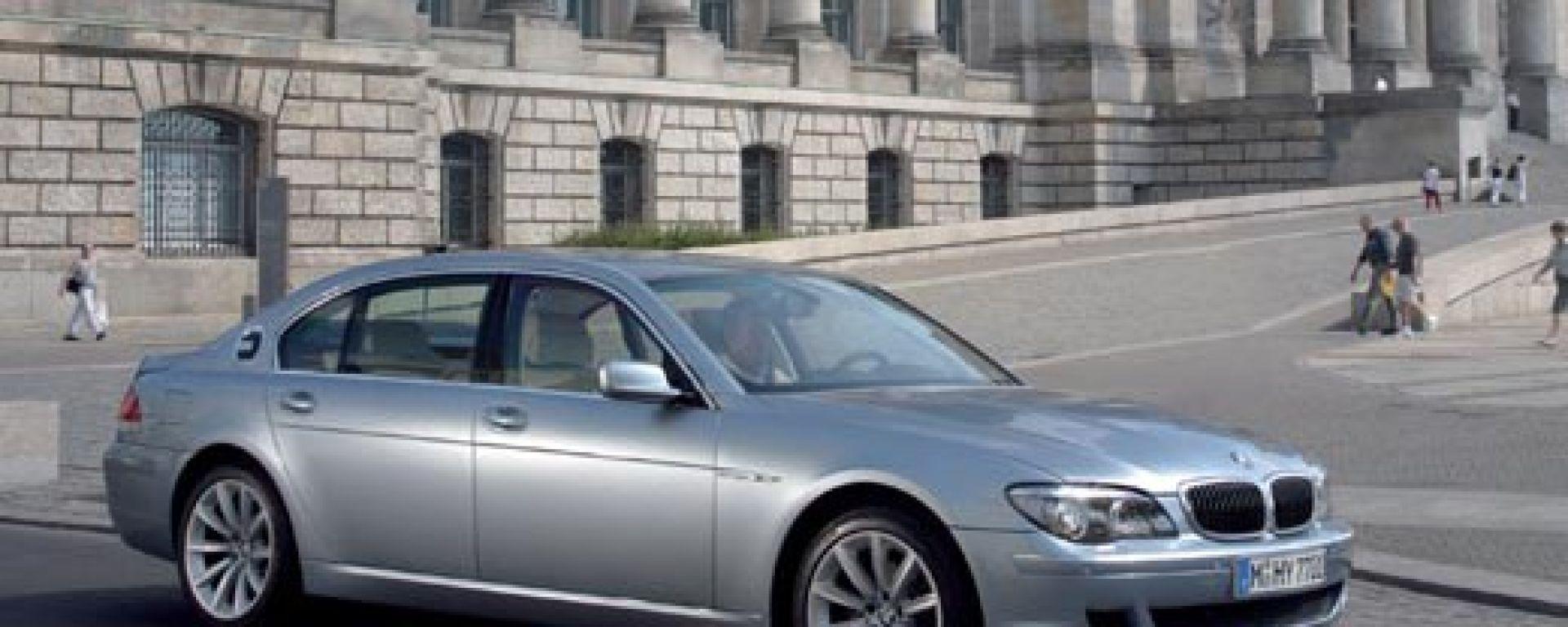 Bmw Serie 7 Hydrogen: ora è in vendita