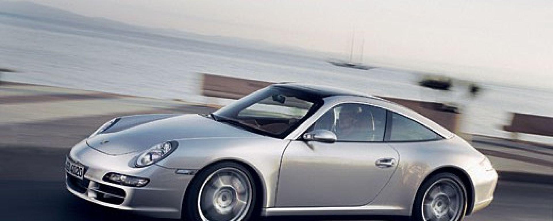 Prova Porsche 911 Targa 4 E 4s Motorbox