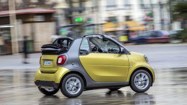 Listino prezzi smart fortwo cabrio