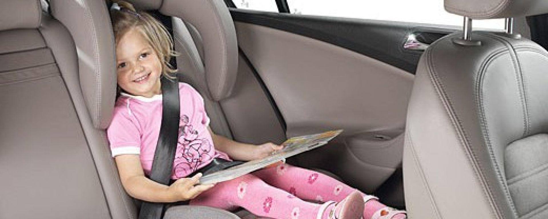 VOLKSWAGEN: massima protezione per i bambini
