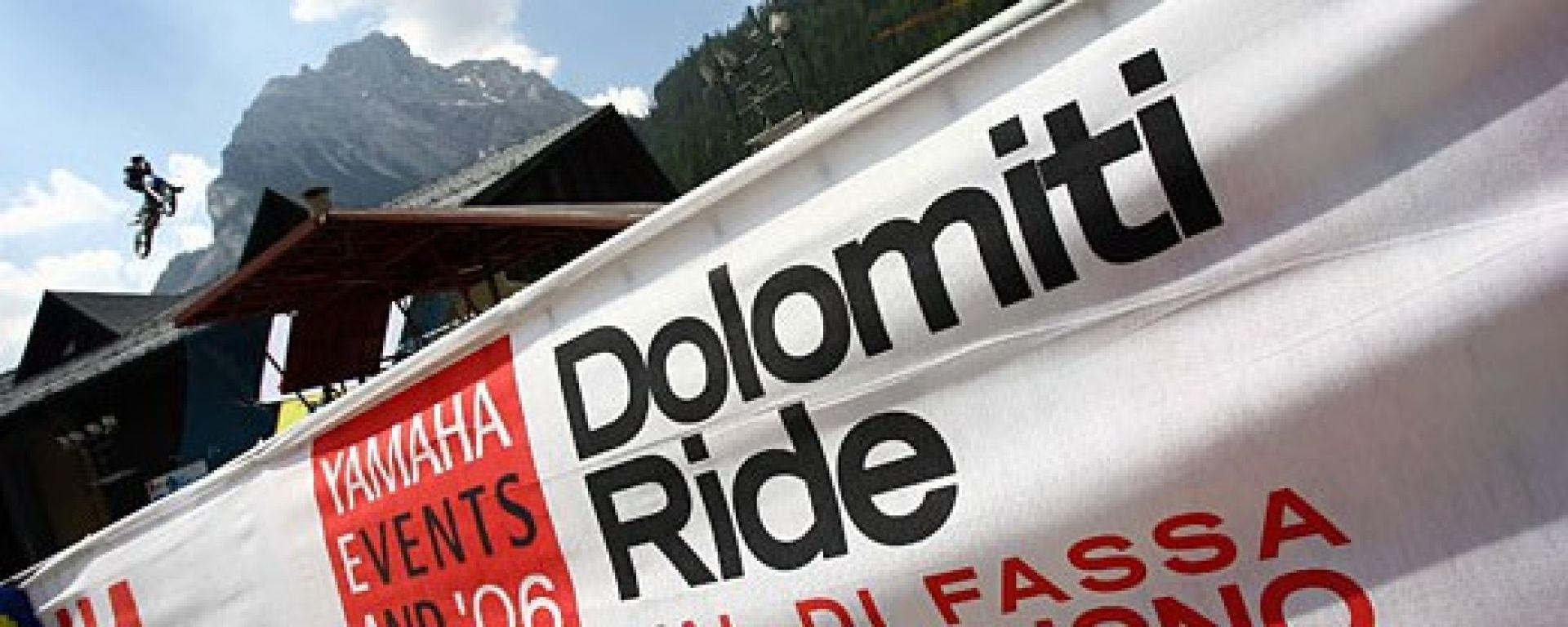 Al Dolomiti Ride con la Yamaha FJR 1300 AS