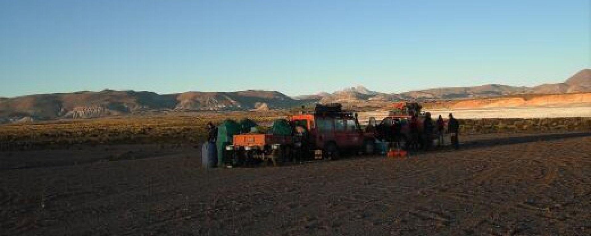 QUINTO GIORNO: DESERTO E VALLI IMMERSE NELLA NATURA