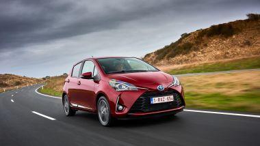 Listino prezzi Toyota Yaris