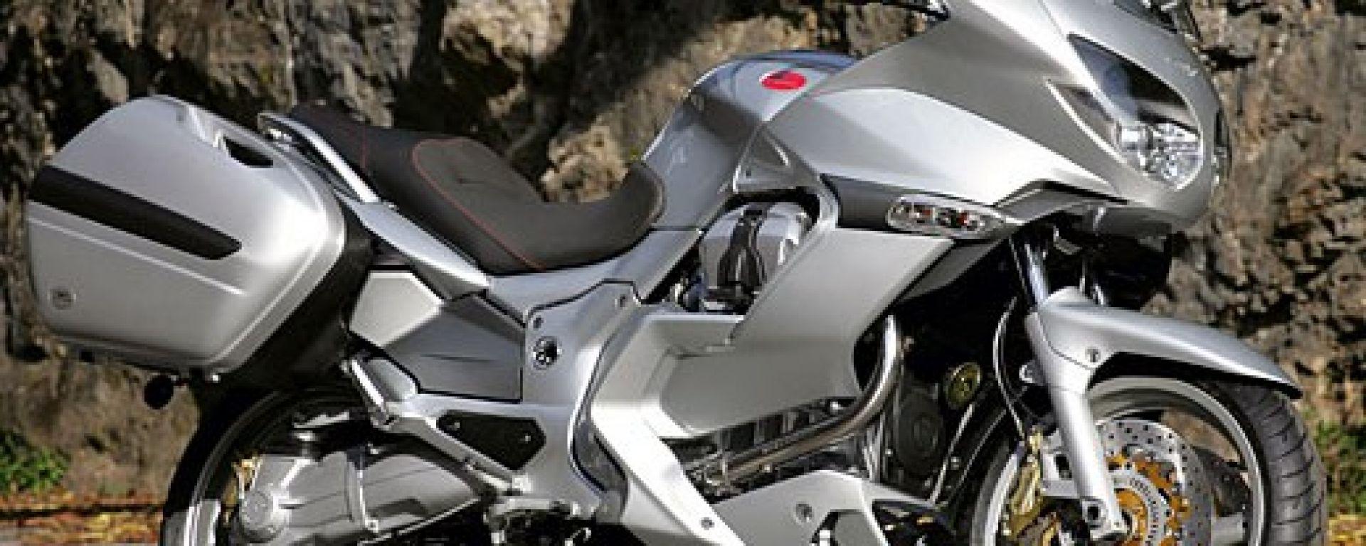 prova: moto guzzi norge 1200 - motorbox