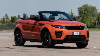 Listino prezzi Land Rover Range Rover Evoque Convertible
