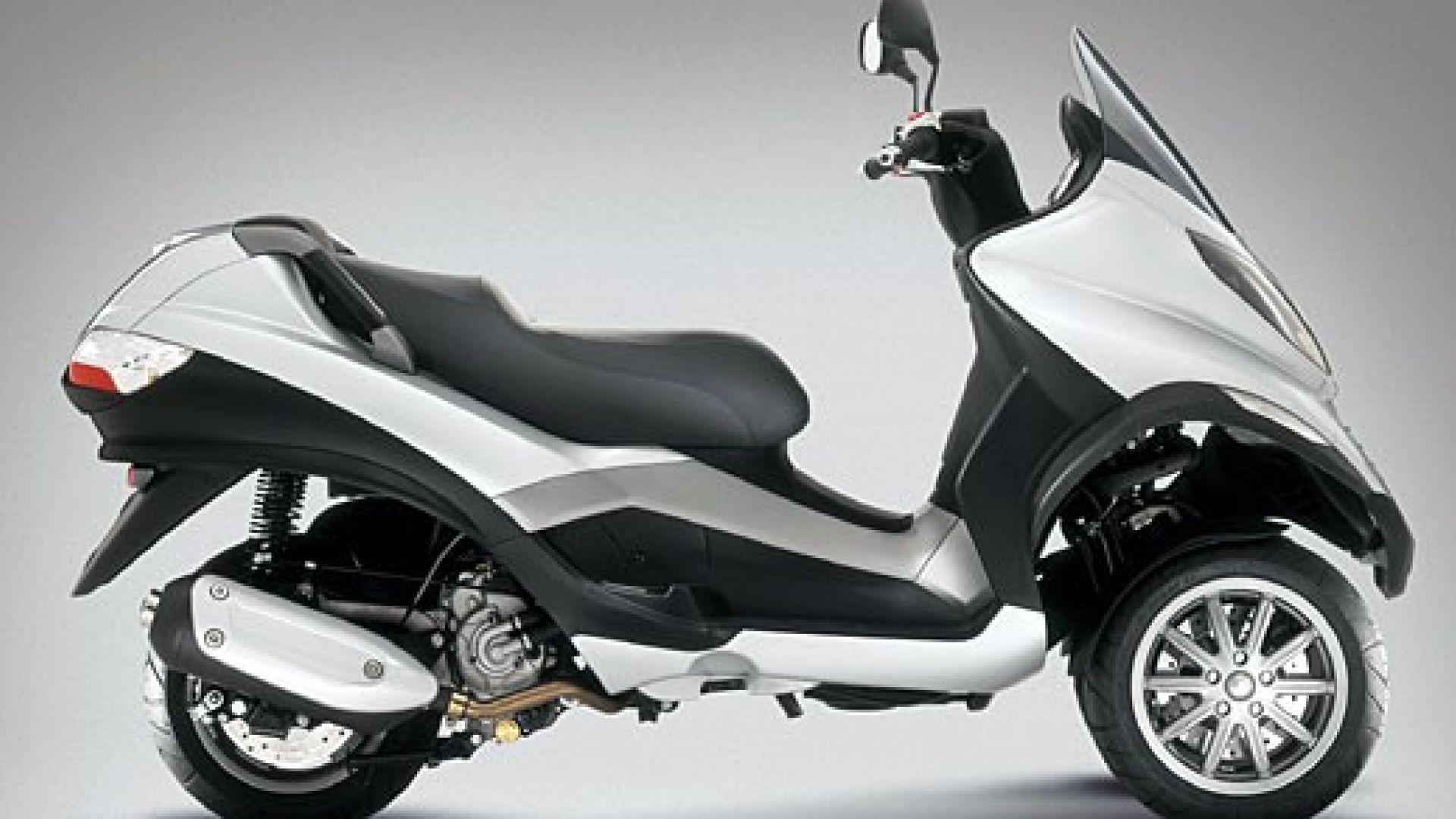 Immagine 2: Piaggio MP3, lo scooter con tre ruote