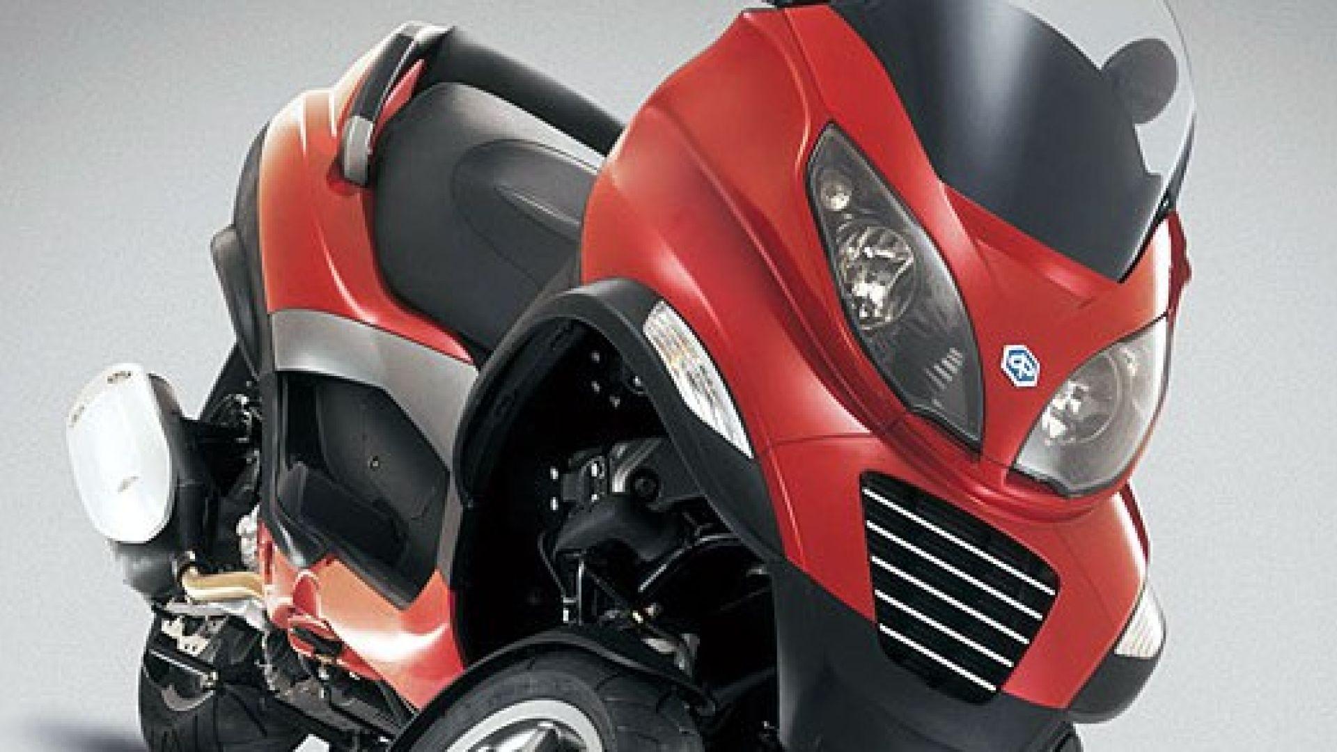 Immagine 5: Piaggio MP3, lo scooter con tre ruote