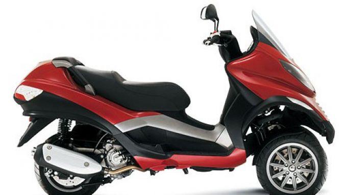 Immagine 6: Piaggio MP3, lo scooter con tre ruote