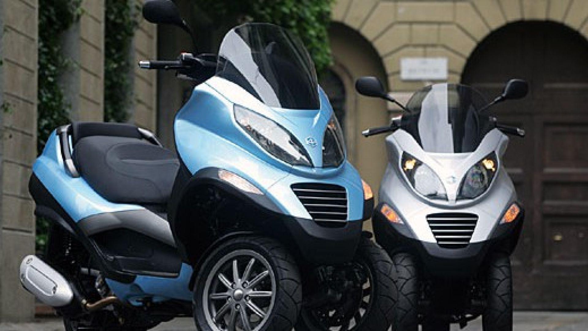 Immagine 13: Piaggio MP3, lo scooter con tre ruote