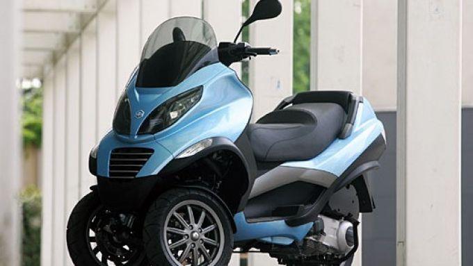 Immagine 14: Piaggio MP3, lo scooter con tre ruote
