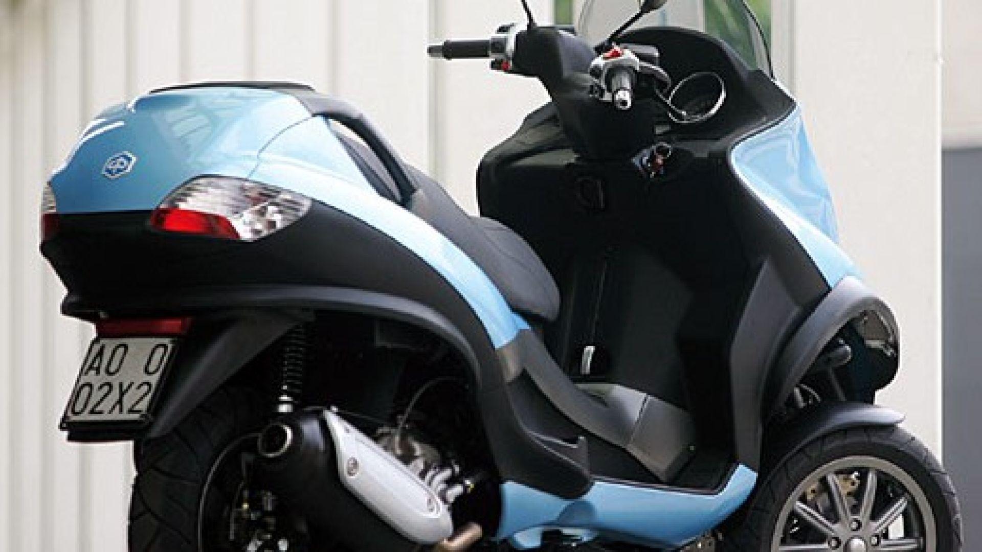 Immagine 15: Piaggio MP3, lo scooter con tre ruote