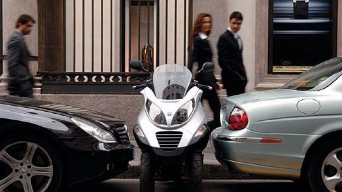 Immagine 16: Piaggio MP3, lo scooter con tre ruote