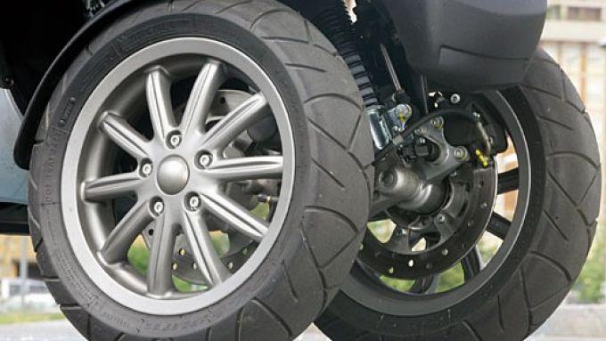 Immagine 17: Piaggio MP3, lo scooter con tre ruote