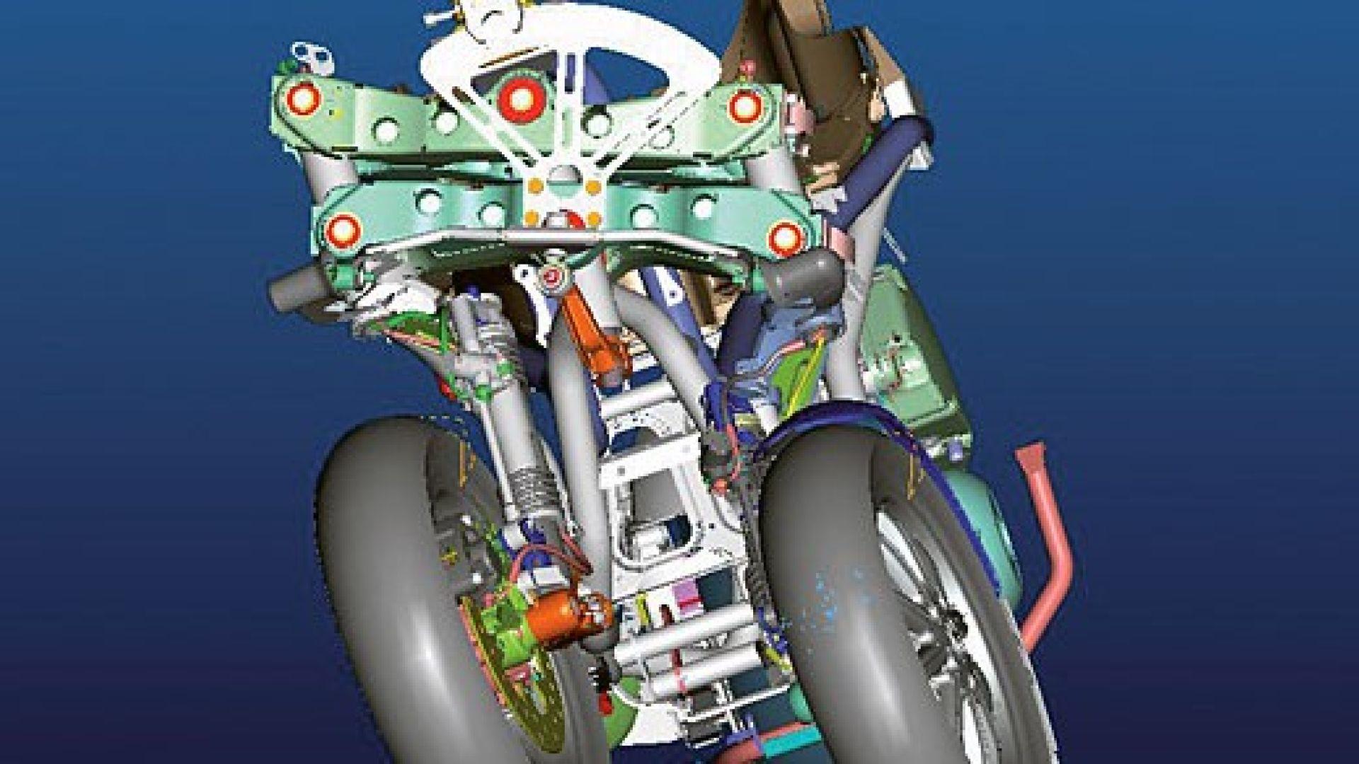 Immagine 24: Piaggio MP3, lo scooter con tre ruote