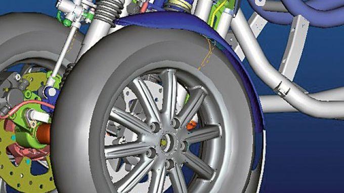 Immagine 25: Piaggio MP3, lo scooter con tre ruote
