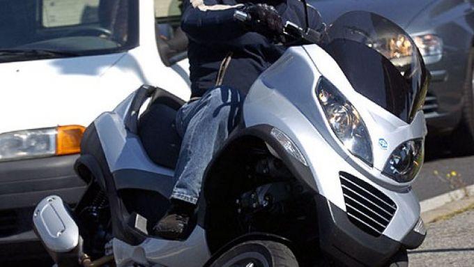Immagine 26: Piaggio MP3, lo scooter con tre ruote